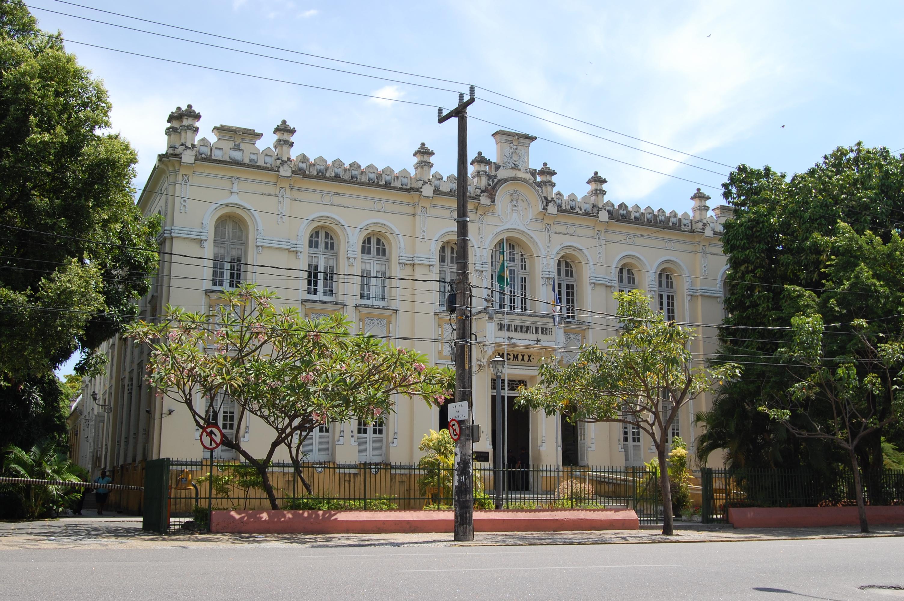 Câmara Municipal do Recife – Wikipédia, a enciclopédia livre