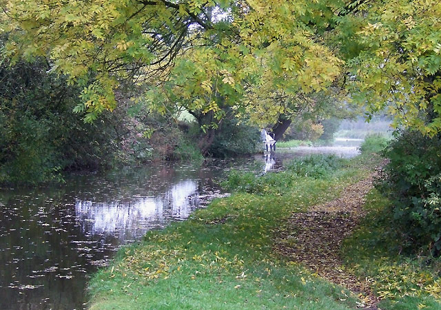 Caldon Canal south-east of Cheddleton, Staffordshire - geograph.org.uk - 594434