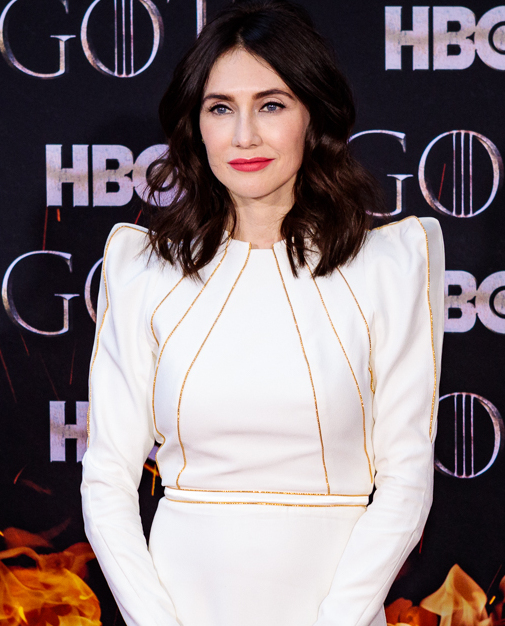 Van Houten in April 2019 at the season eight premiere of ''Game of Thrones''