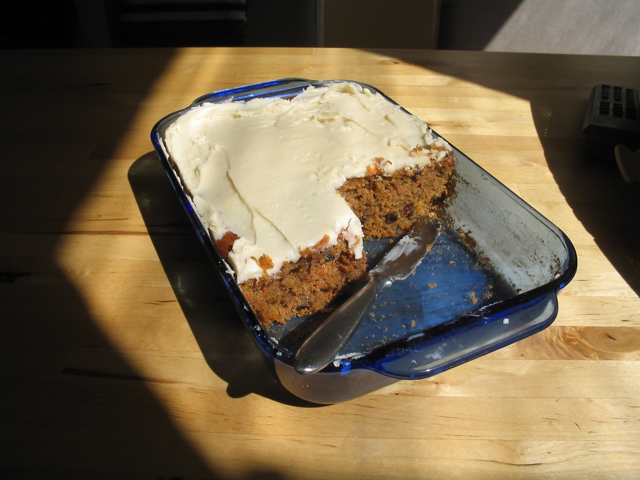 Simple Carrot Cake Icing