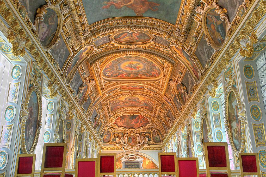 File chapelle du chateau de wikimedia - Plafond de la chapelle sixtine description ...