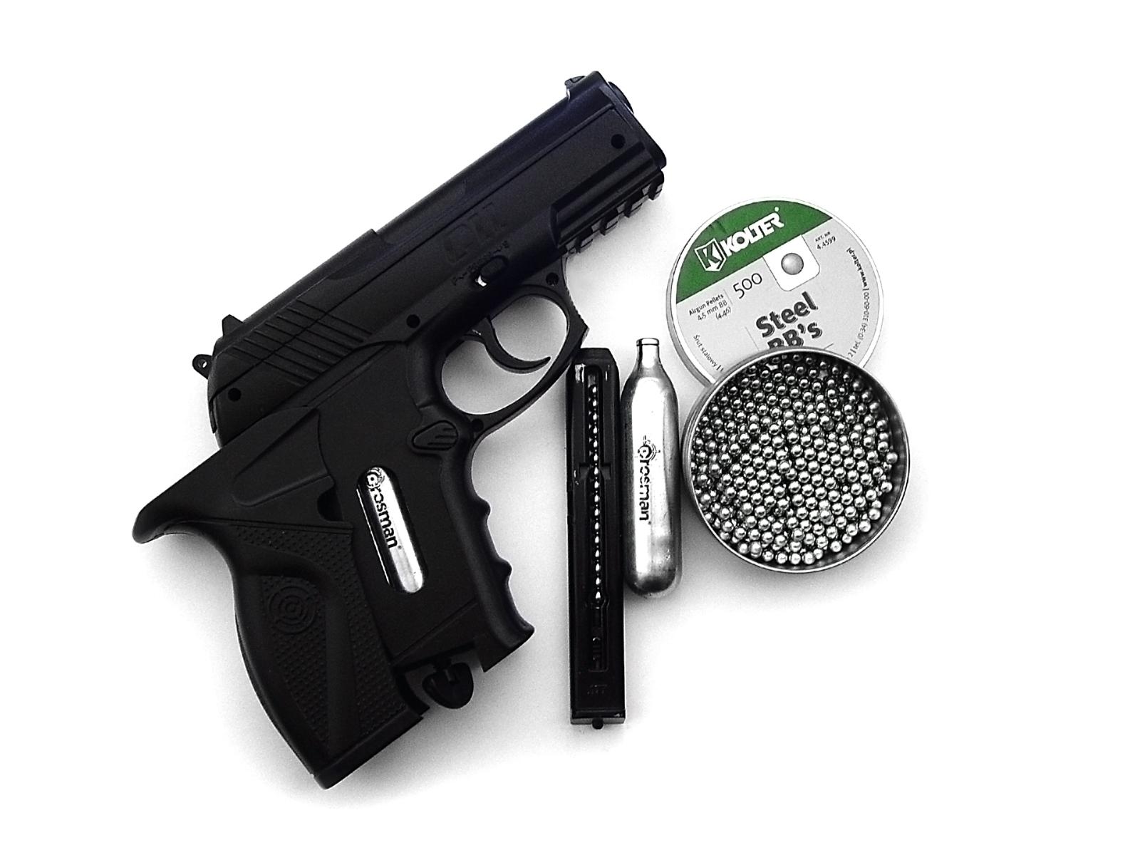 Reseña pistola Co2 Crossman C11 - Taringa!