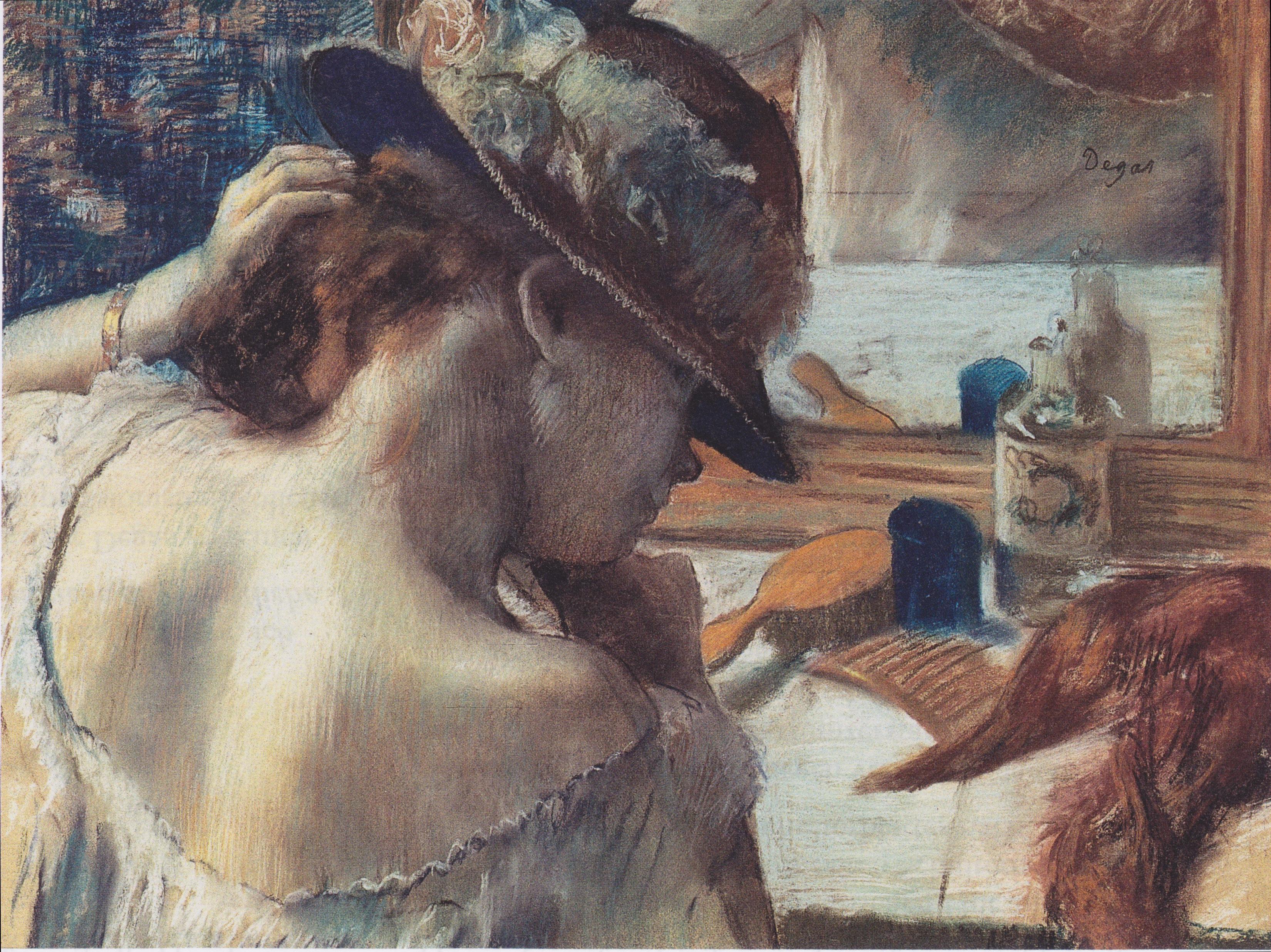 Birth Control >> File:Degas - Vor dem Spiegel - ca1899.jpeg - Wikimedia Commons