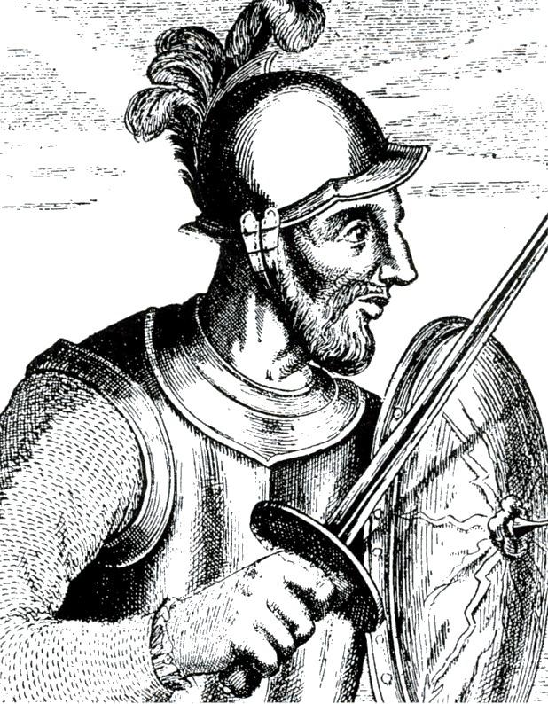 Depiction of Juan Balsa