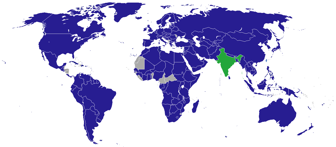 List of diplomatic missions in India - Wikipedia