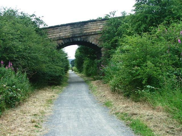 Disused Railway Bridge, Lanchester Valley Walk - geograph.org.uk - 30184
