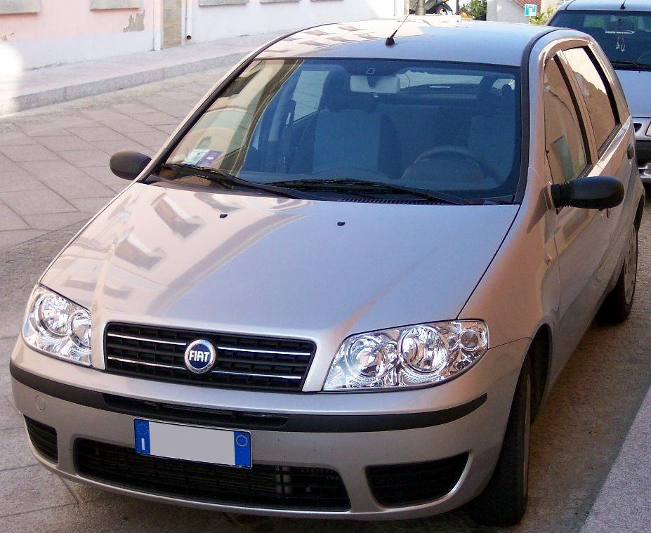 file fiat punto start 2006 silver wikimedia commons. Black Bedroom Furniture Sets. Home Design Ideas