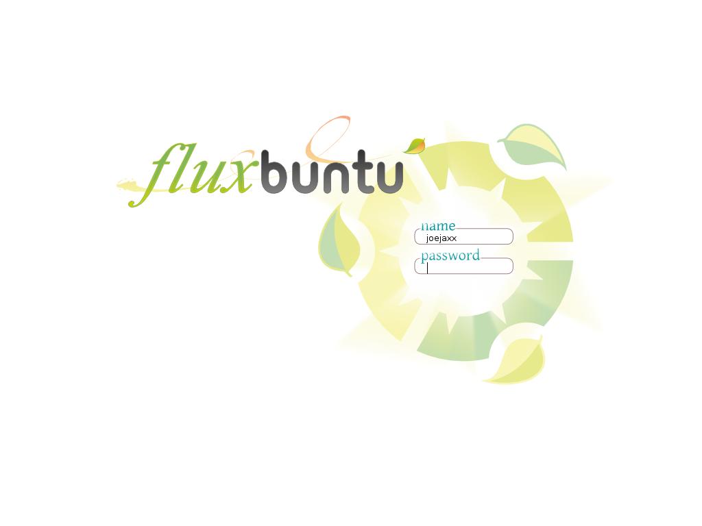 fluxbuntu change