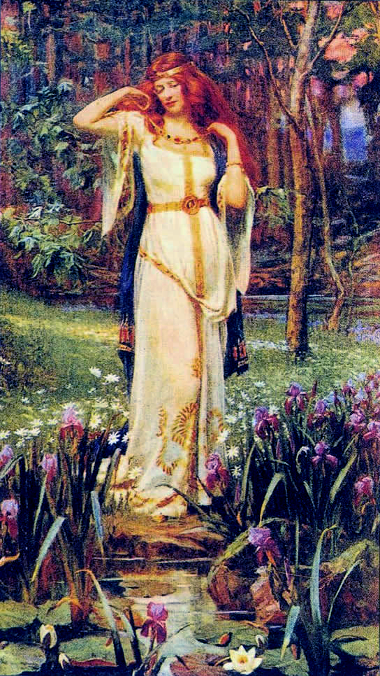 Freyja, by J. Doyle Penrose (1862-1932). Bette...