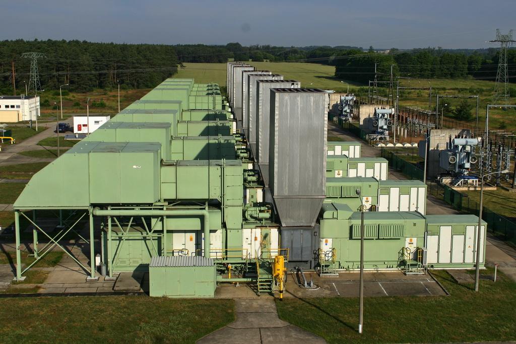 Gaskraftwerk Thyrow