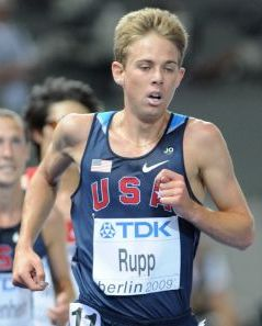 English: Galen Rupp at the World Championship ...