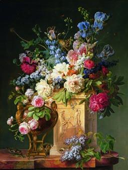 File gerard van spaendonck still life wikimedia for Bouquet de fleurs wiki
