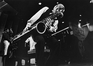 Gerry Mulligan American jazz baritone saxophonist, arranger and composer