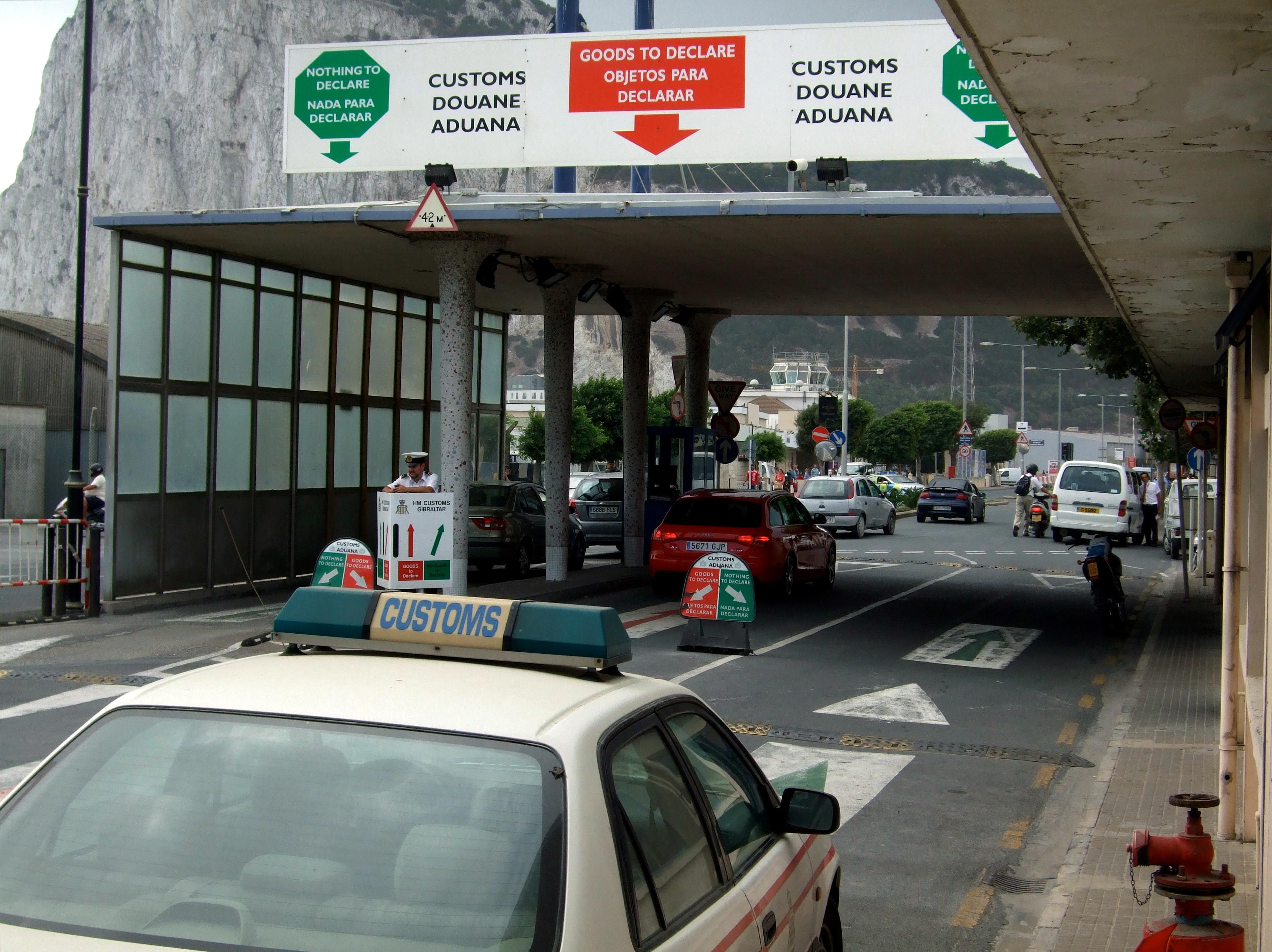 douane gibraltar