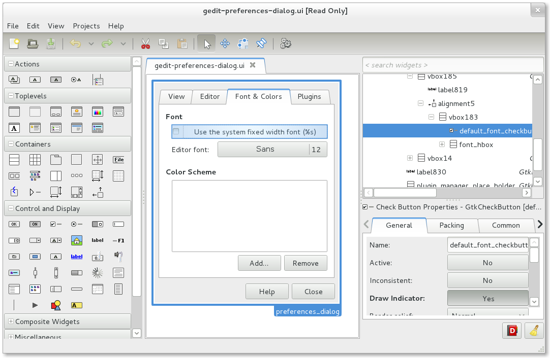 Glade Interface Designer - Wik...