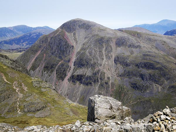 Great Gable from Broad Crag col - geograph.org.uk - 768103
