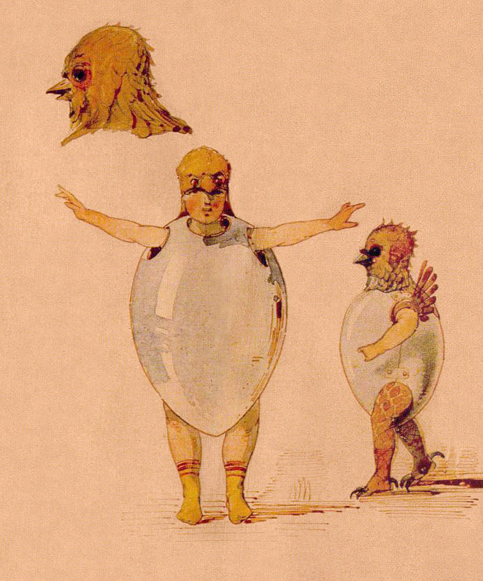 Hartmann Chicks sketch for Trilby ballet. Viktor Hartmann [Public domain], via Wikimedia Commons