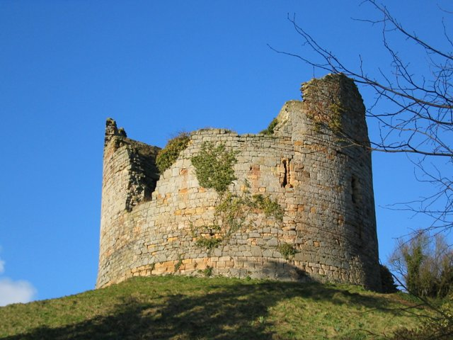 Hawarden 'Old' Castle - geograph.org.uk - 287719