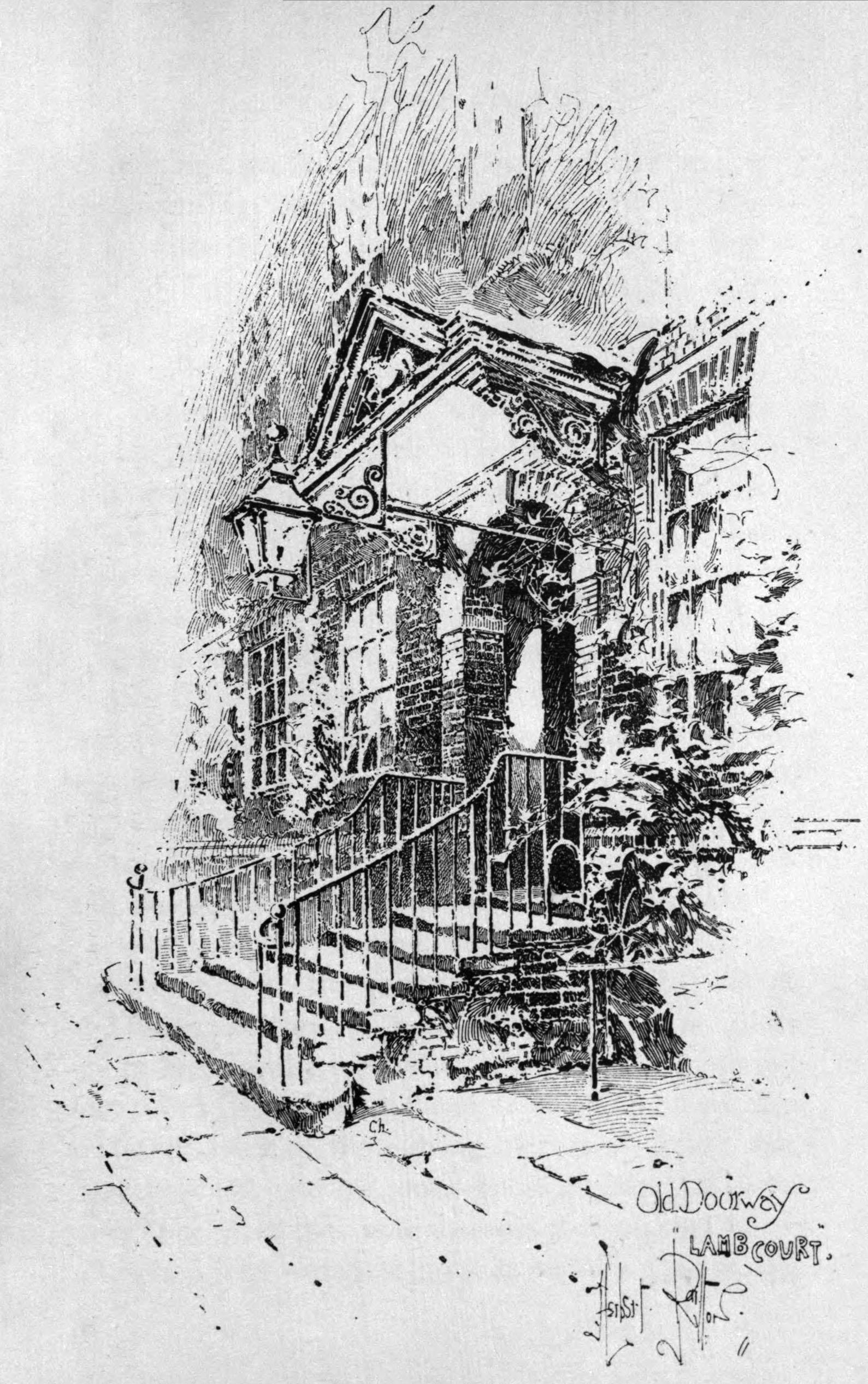 File Herbert Railton Old Doorway Lamb Court Jpg