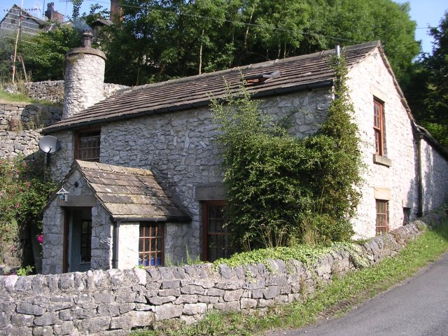 House near Litton Mill (from the south-east) - geograph.org.uk - 57619