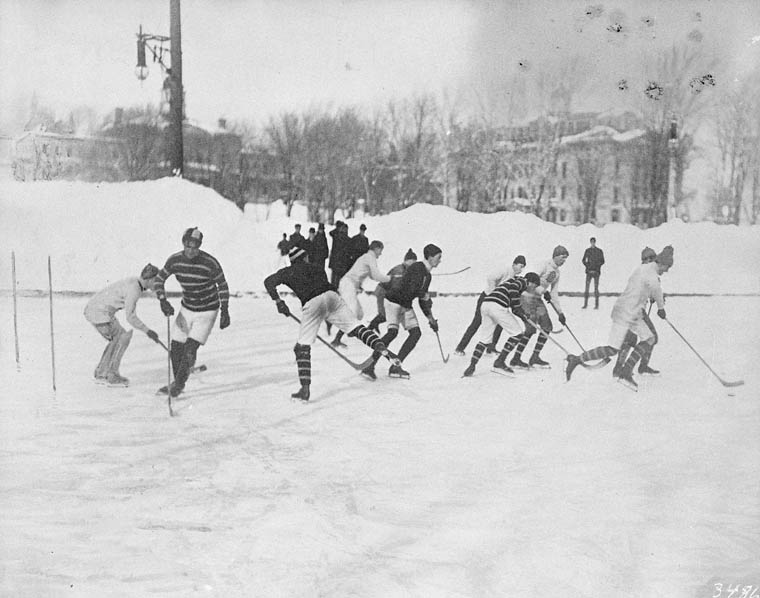 Ice hockey McGill University 1901