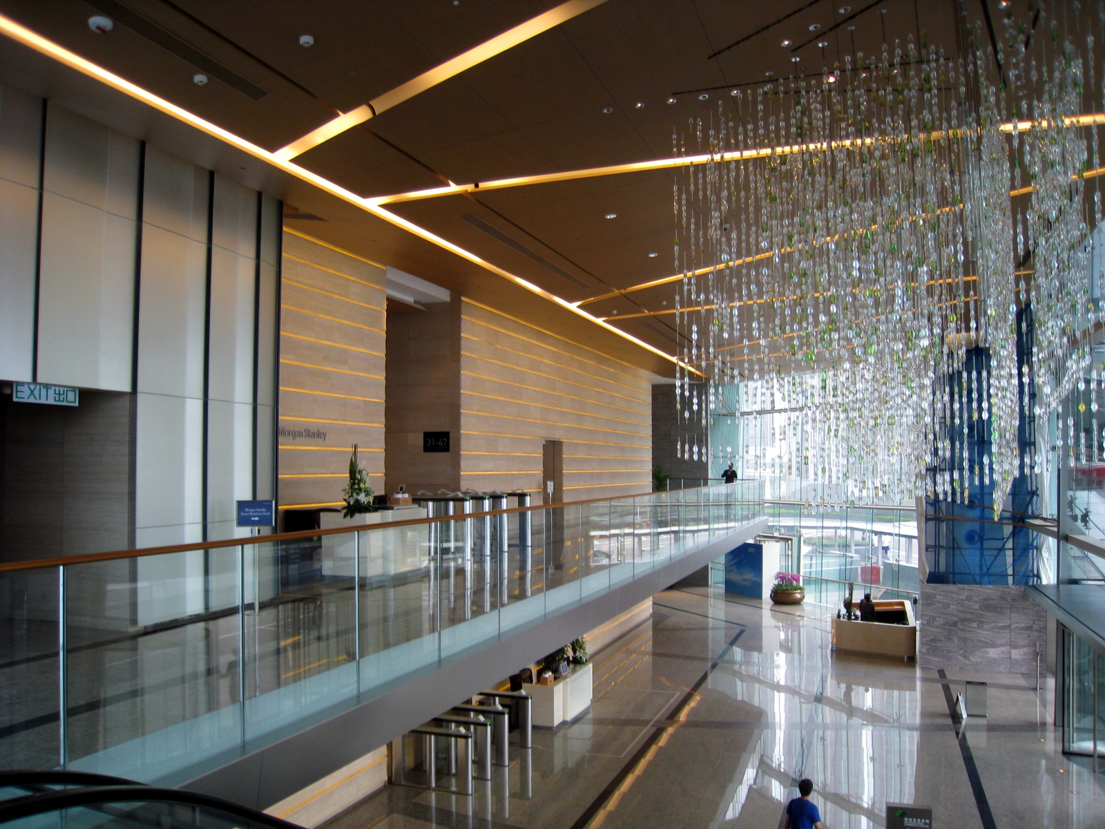 File International Commerce Centre Lift Lobby Overview1 Jpg Wikipedia