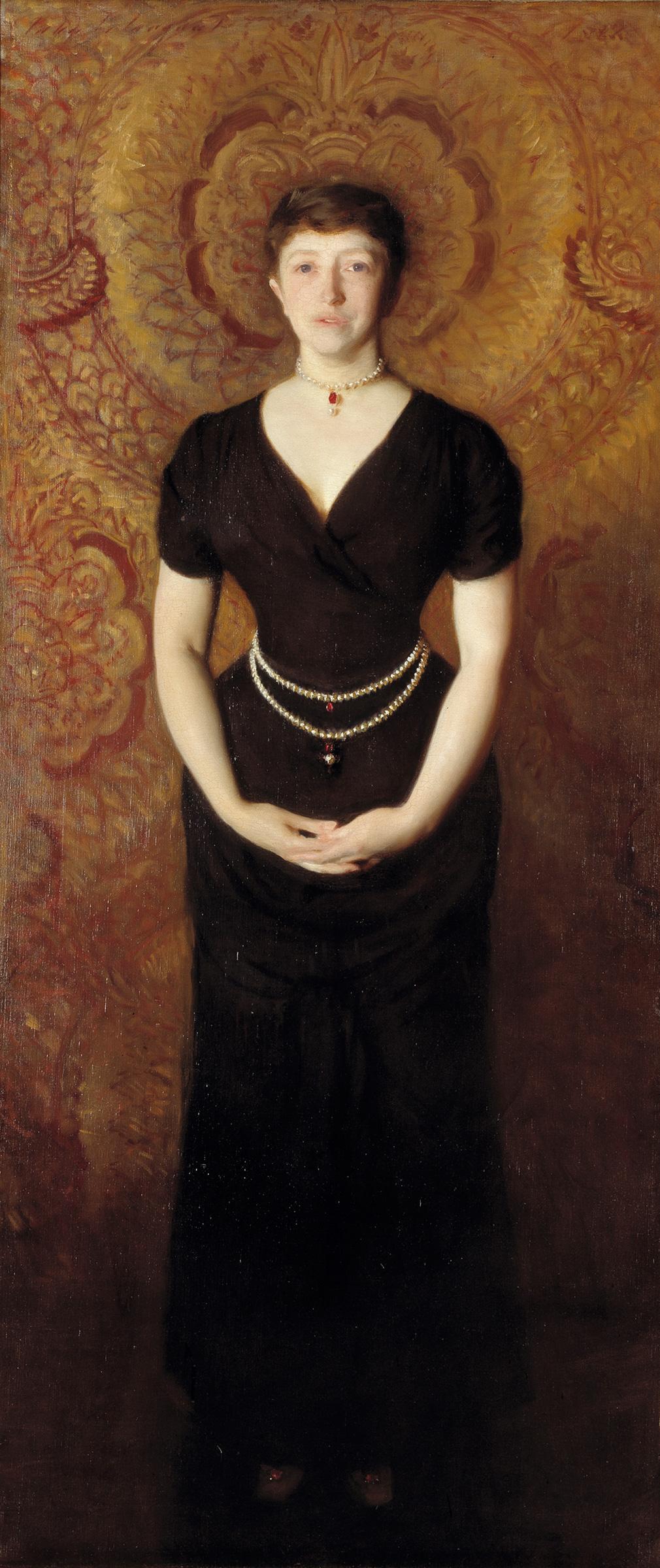 Isabella Stewart Gardner (1888), by John Singe...