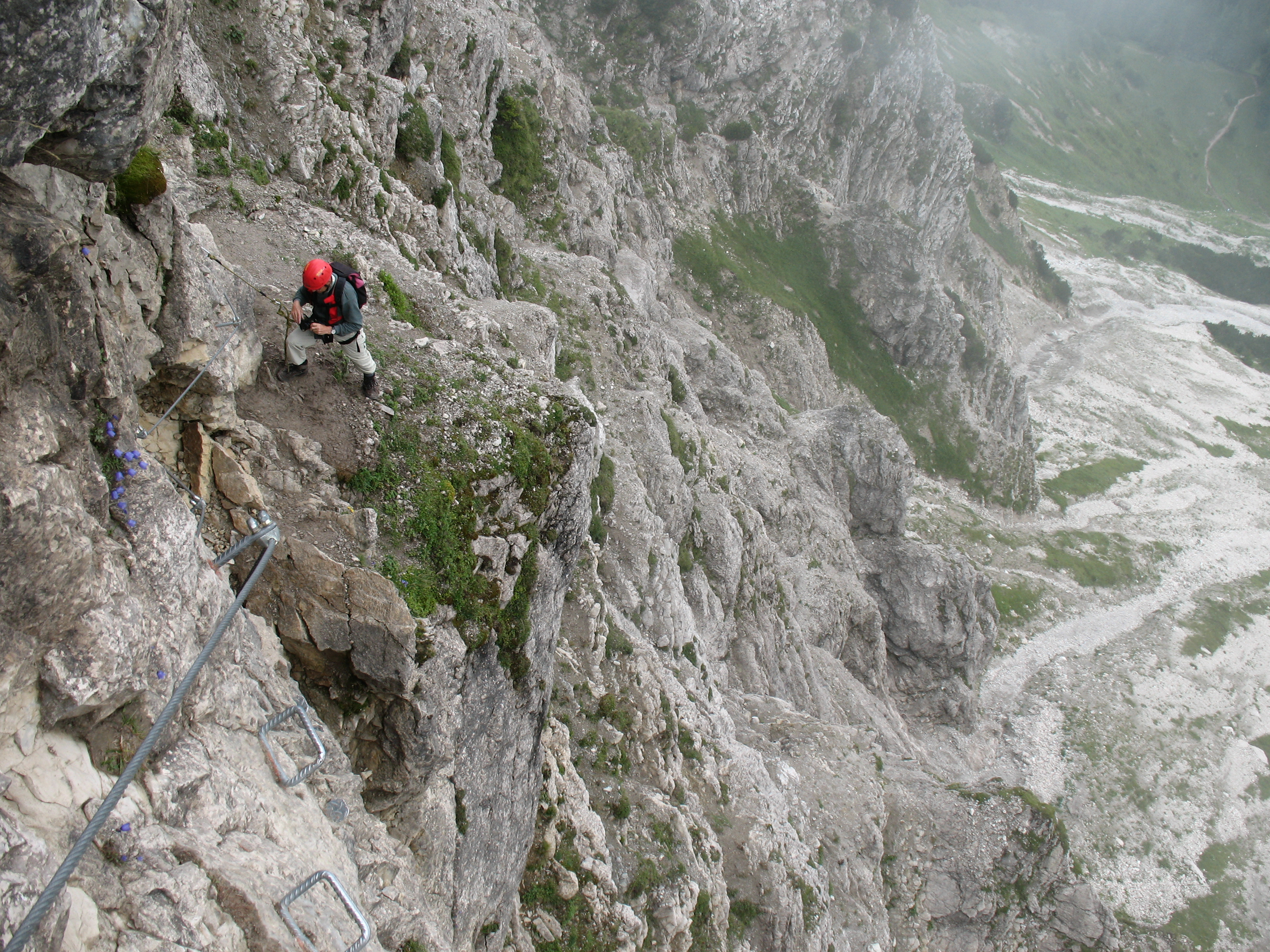 Klettersteig Oberjoch : Ma fia salewa klettersteig oberjoch