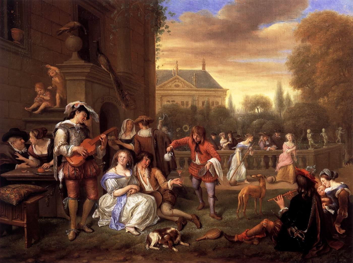 File:Jan Steen - Garden Party - WGA21762.jpg - Wikimedia Commons