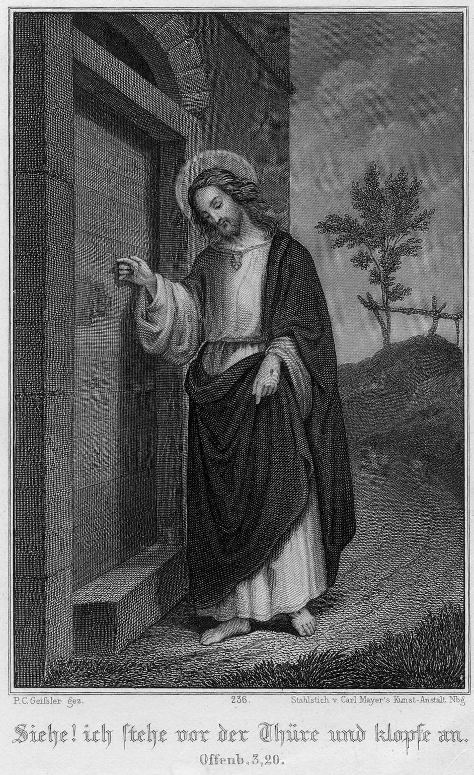 Jesus christ knocking the door and sacred heart pictures image of jesus christ altavistaventures Gallery