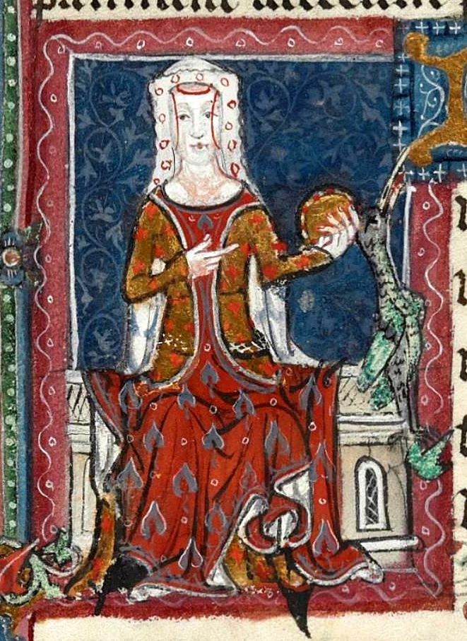 14th-century English noblewoman