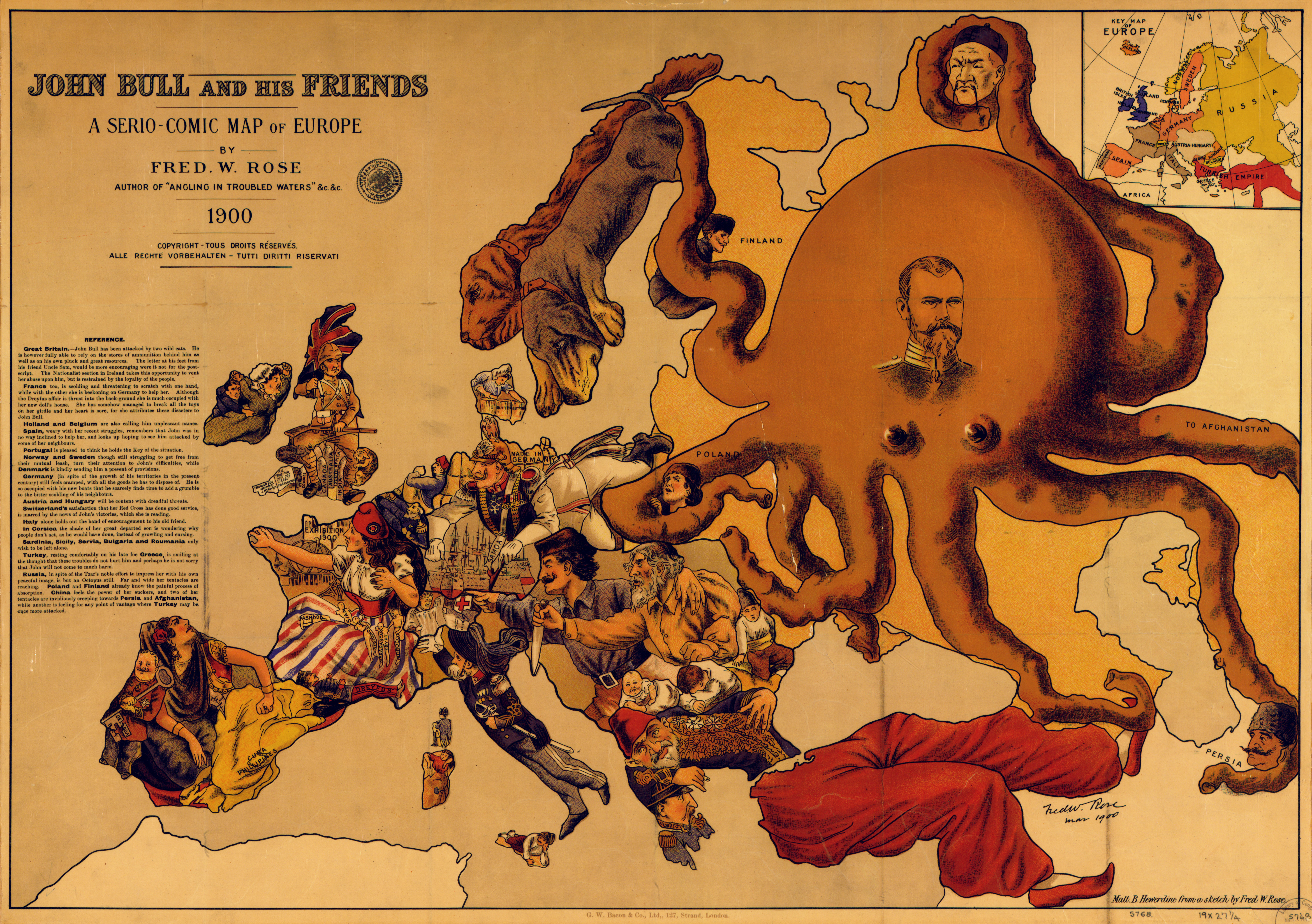 Afternoon Map: A Map, Some History and an Octopus