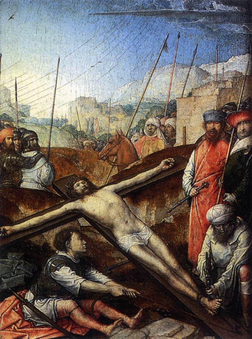 File:Juan de Flandes - Christ Nailed to the Cross - WGA12051.jpg ...