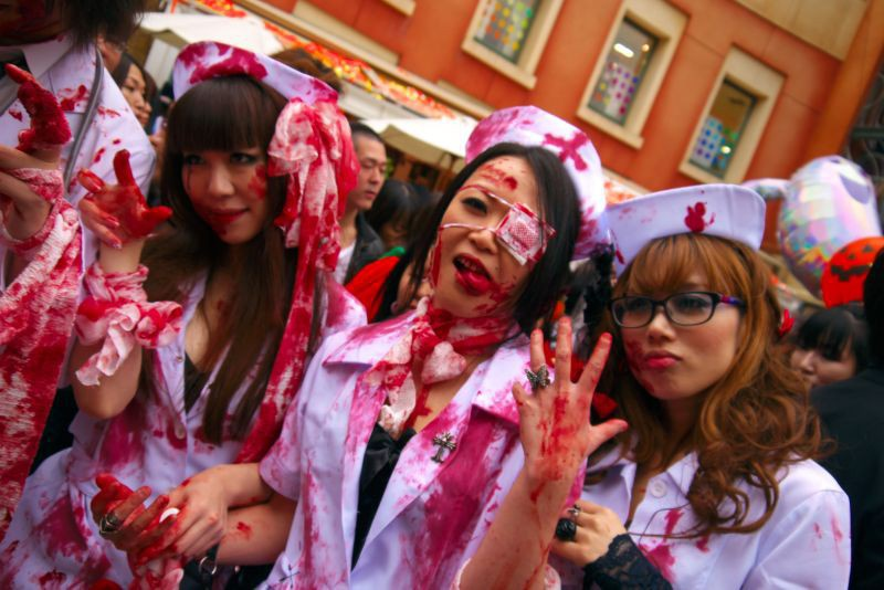 Image result for japan halloween