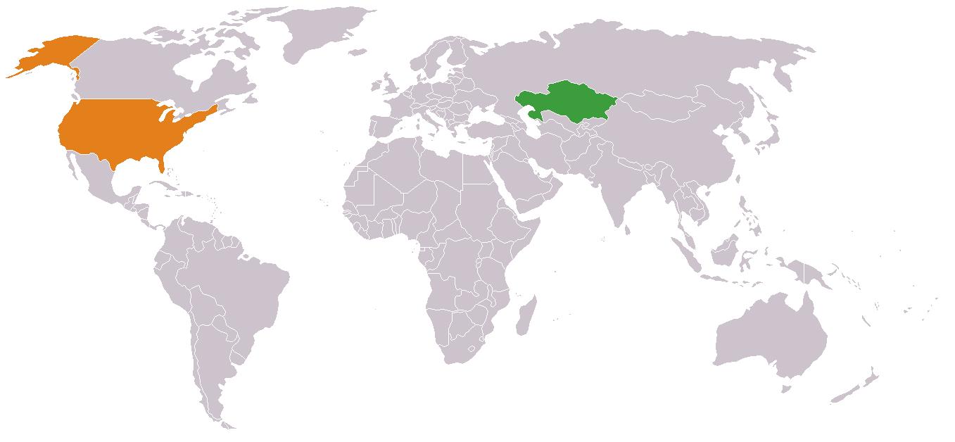 дипломатические отношения сша и казахстан