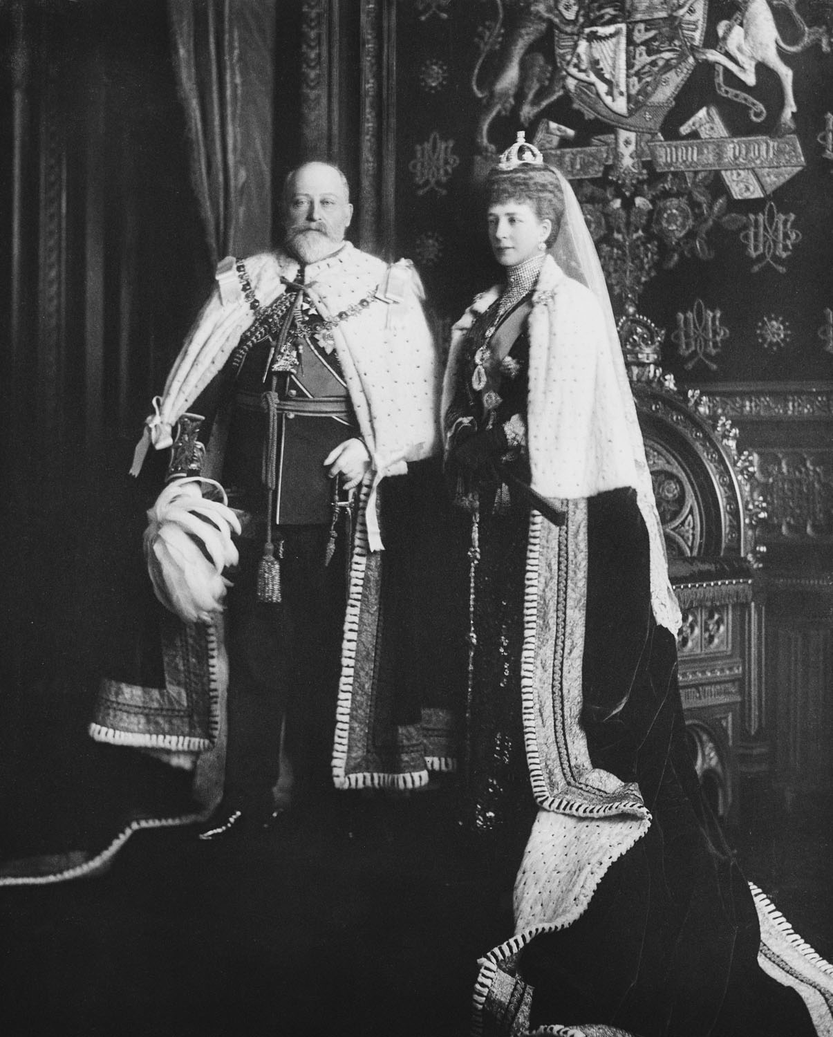 Image result for king and queen old photo