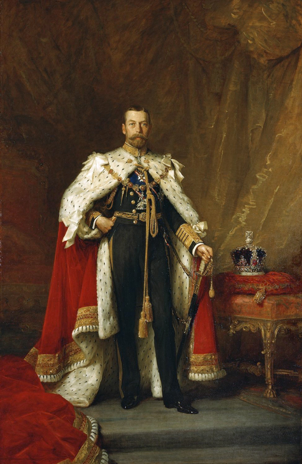 Coronation Of George V And Mary Wikipedia