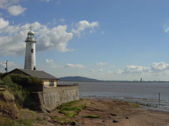 Lighthouse at Hale point - geograph.org.uk - 40618