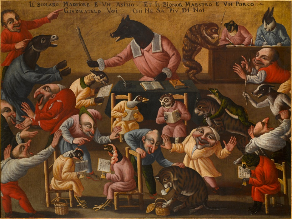 Итальянская версия Иеронимуса Босха