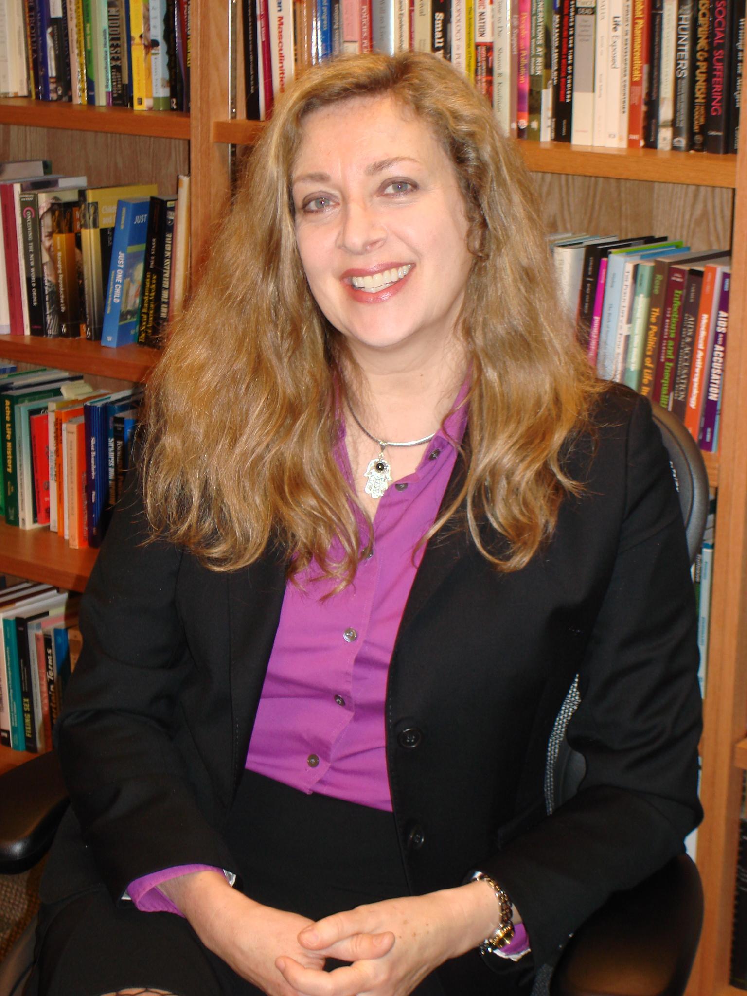 Marcia C. Inhorn at Yale, 2009.