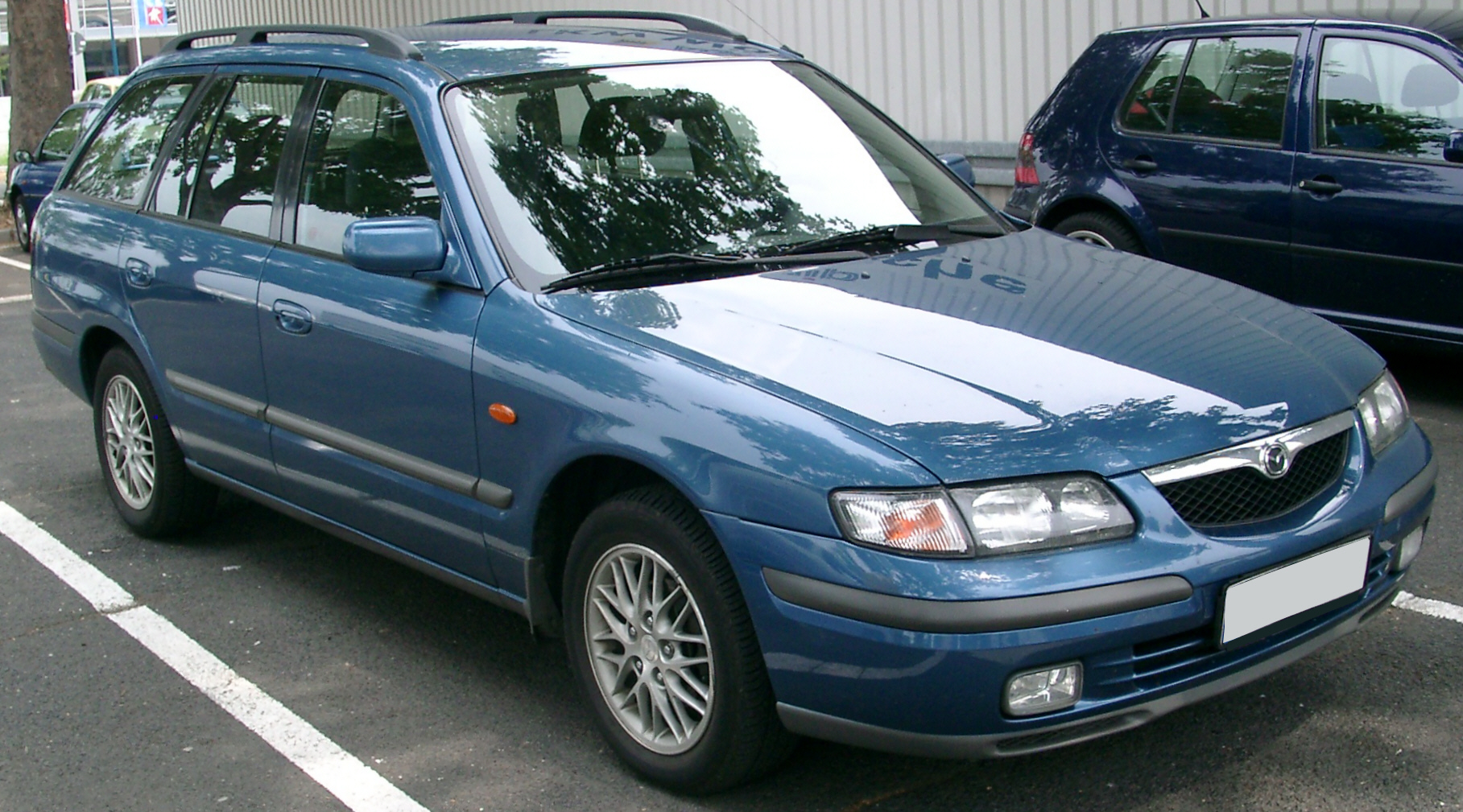 File Mazda 626 Front 20070609 Jpg Wikimedia Commons