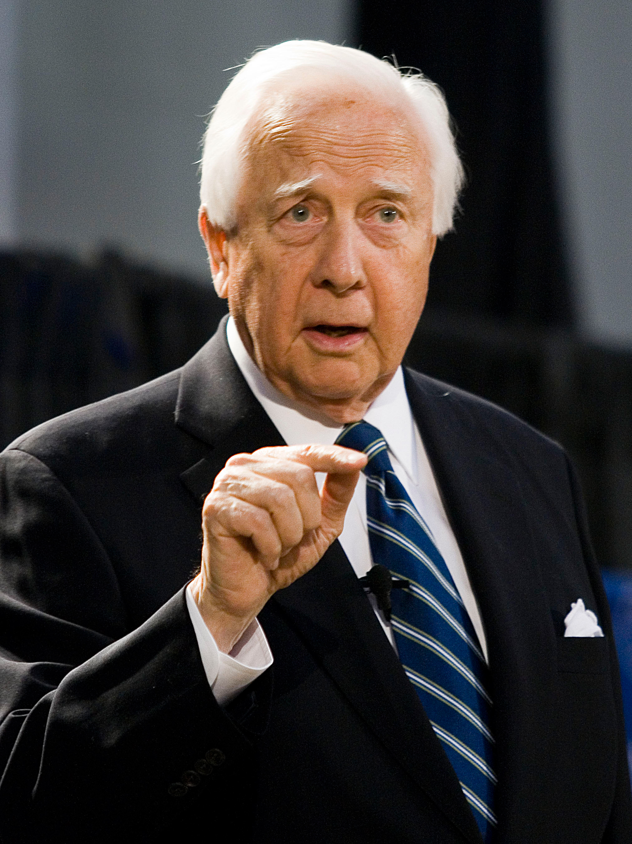 Portrait of David McCullough