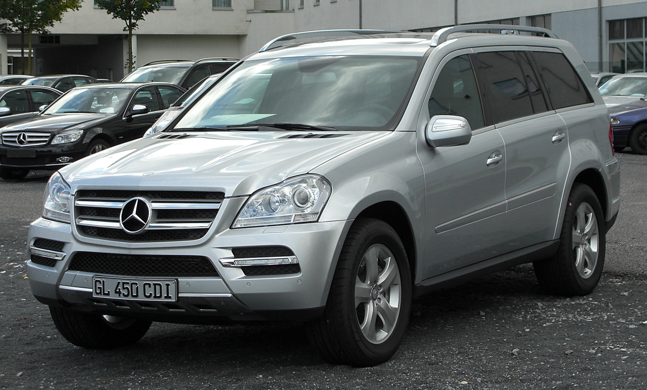 File Mercedes Gl 450 Cdi 4matic X164 Facelift Front 20100926 Jpg