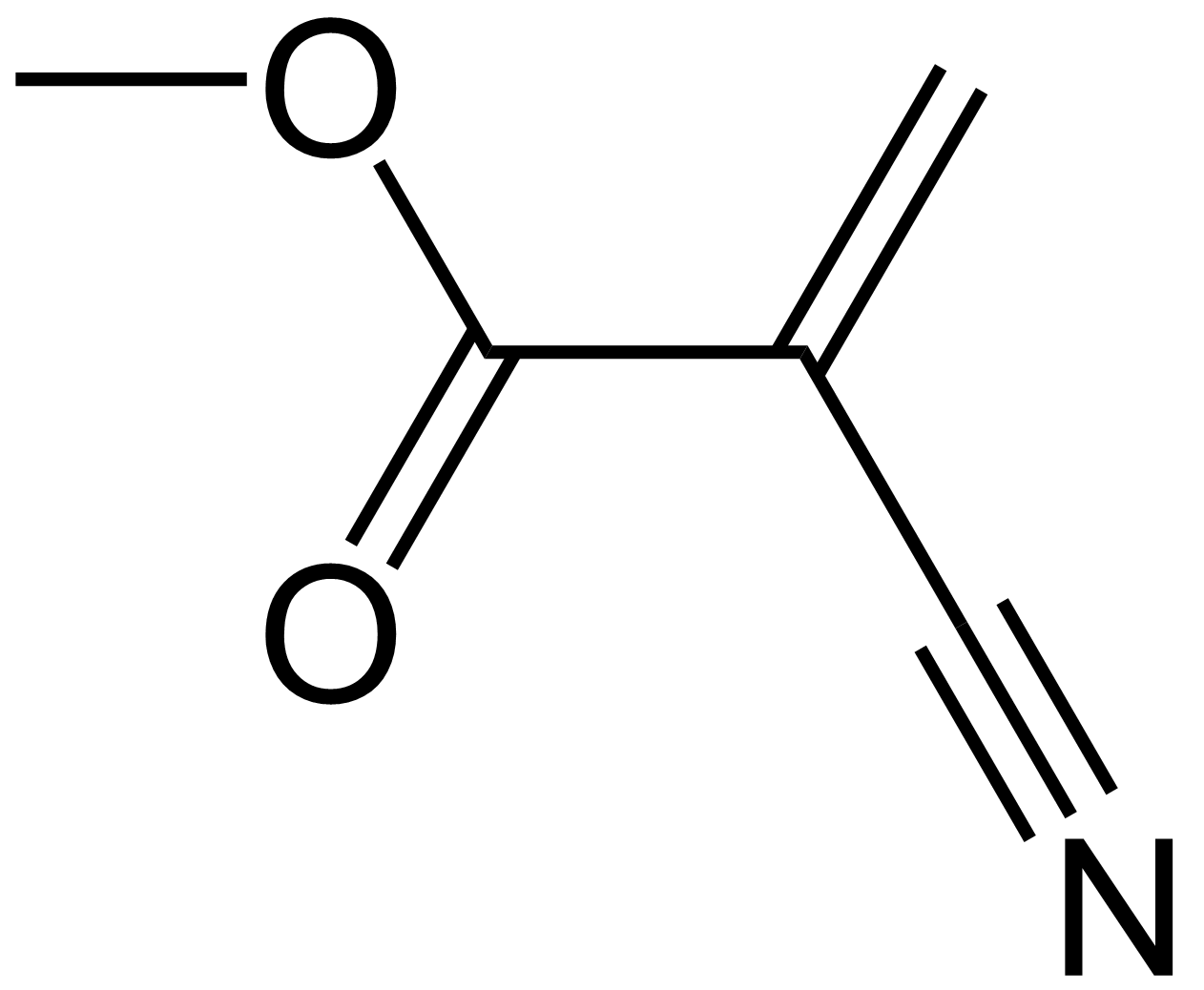 File:Methyl-cyanoacrylate-2D-color.png - Wikimedia Commons
