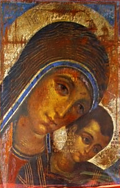 Icon of the Virgin Mary by Kiko Argüello, the ...