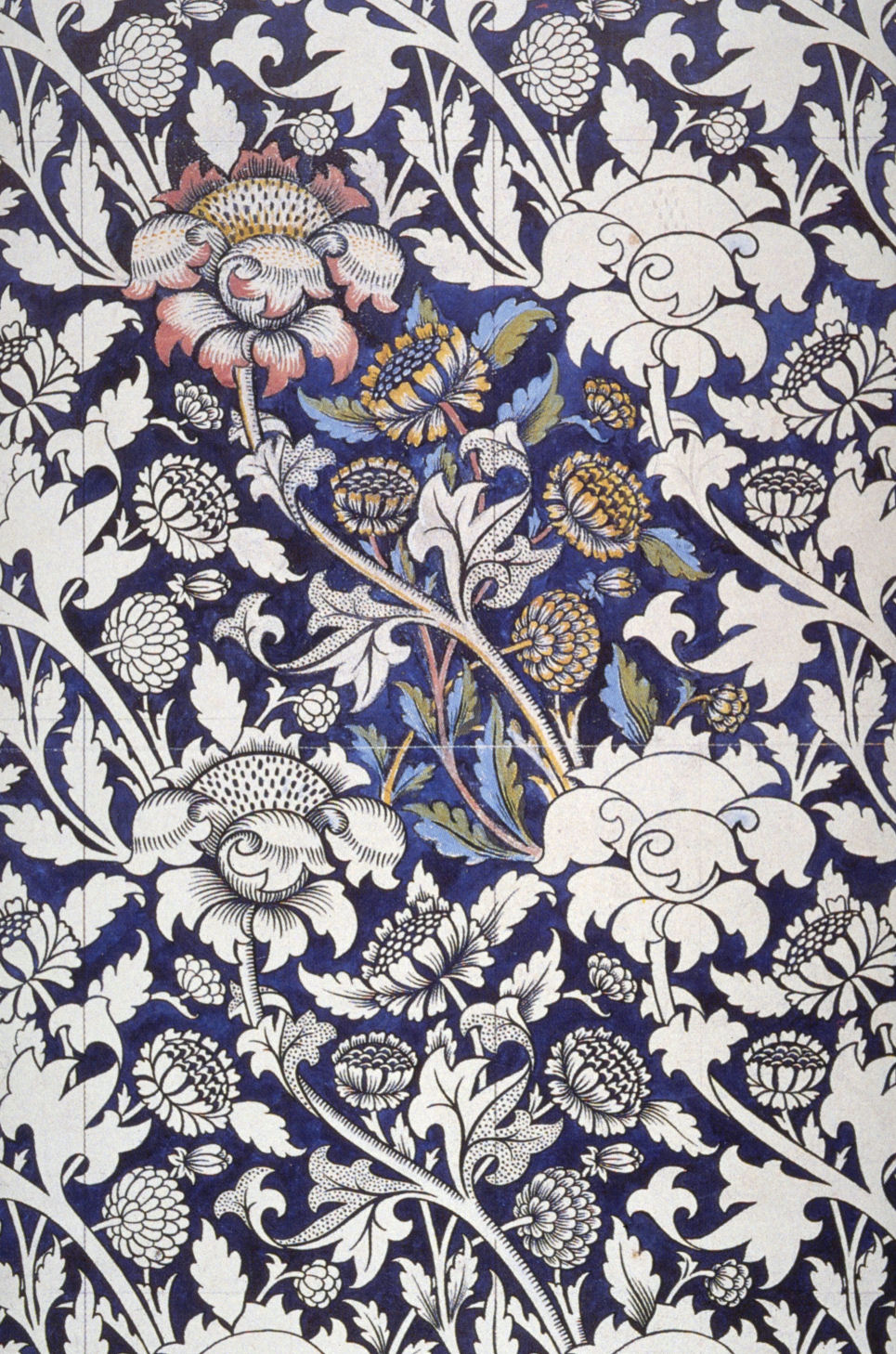 Description Morris Wey printed textile design c 1883.jpg