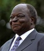 Mwai Kibaki, October 2003