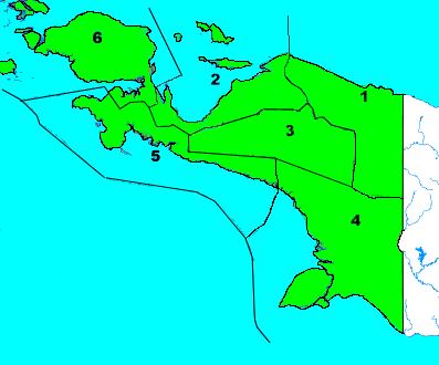 Afdelingen Папуа