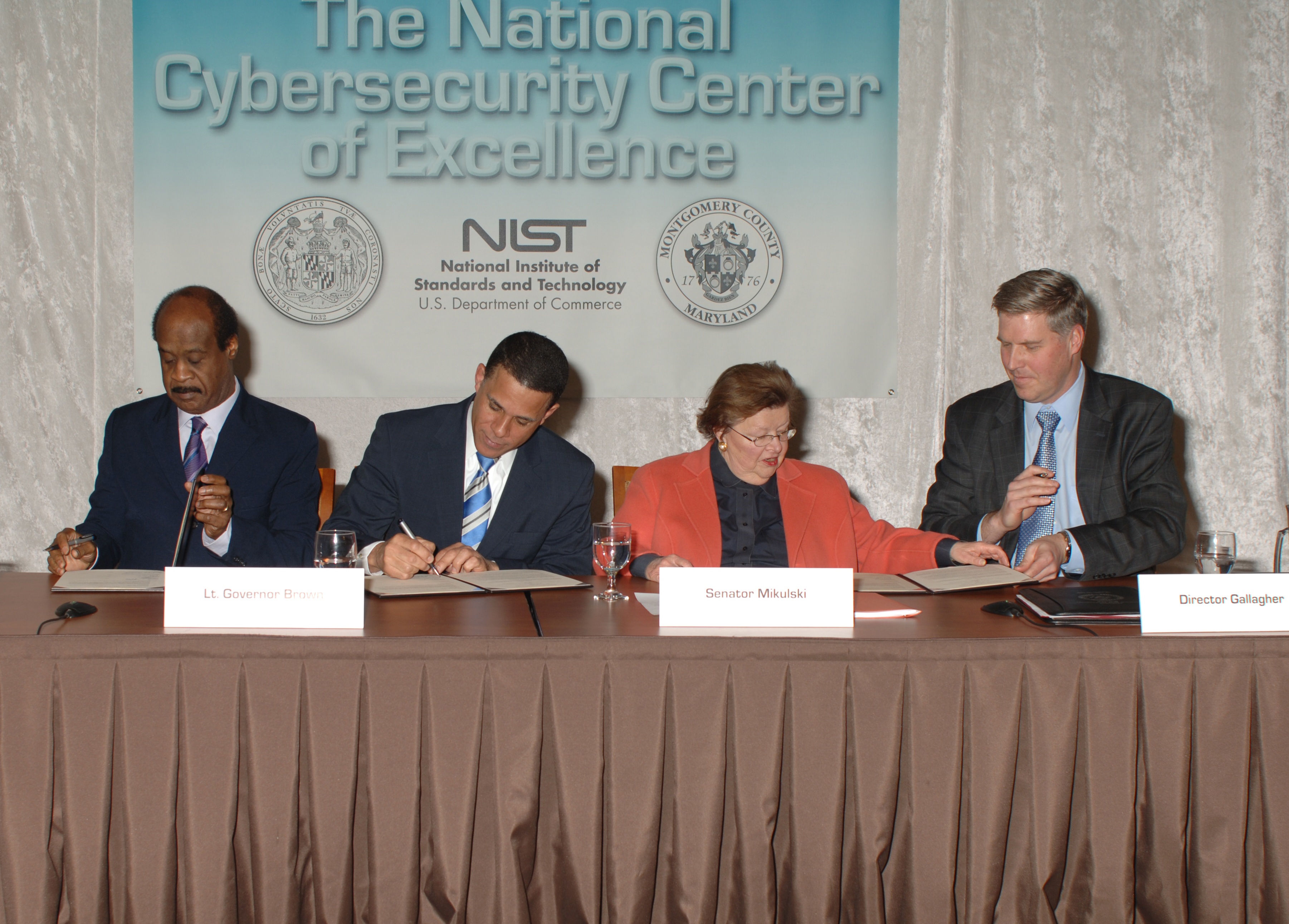 National Cybersecurity Center of Excellence MOU Signing (7024892089).jpg