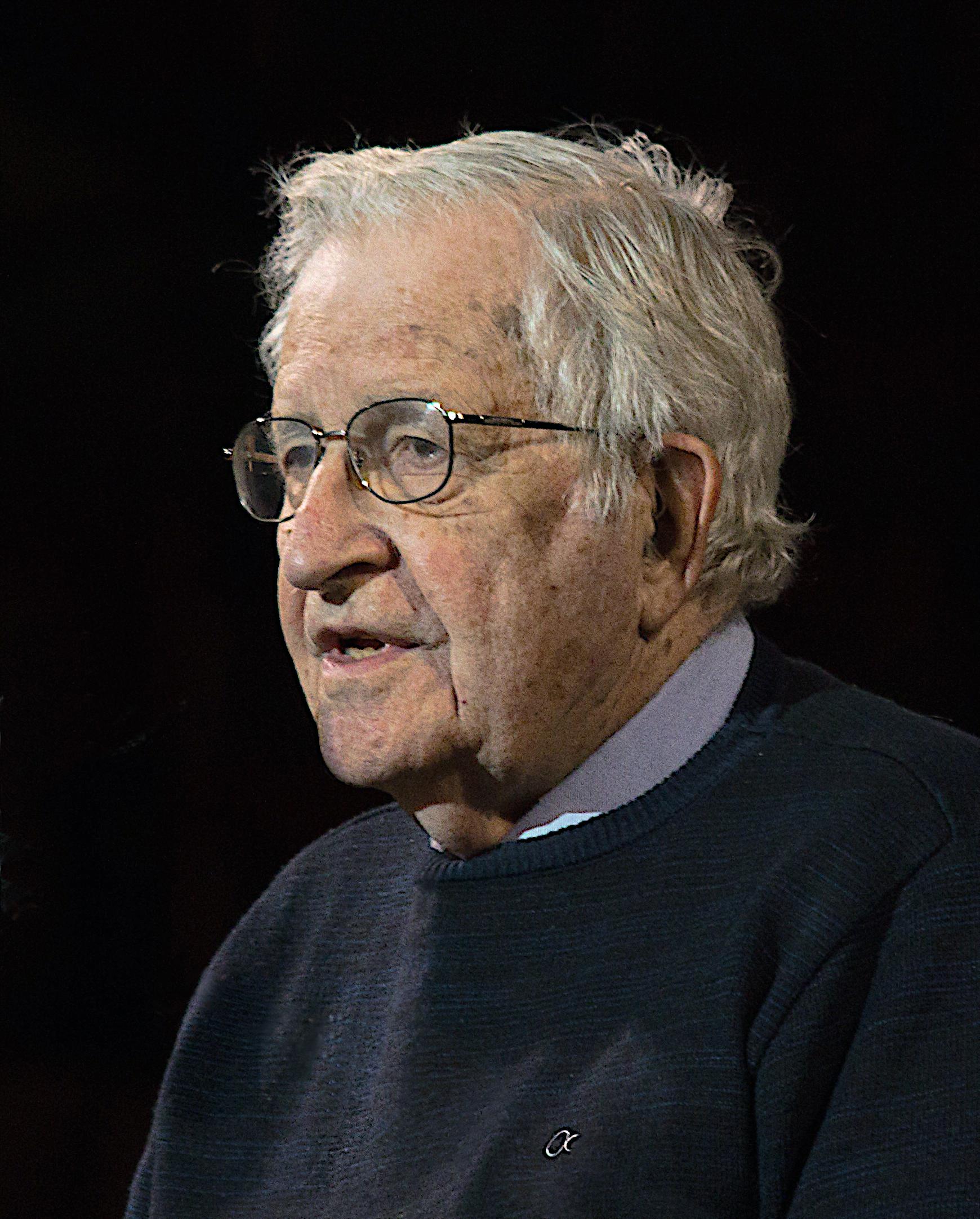 Chomsky in 2017